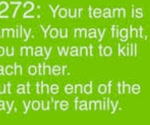 family, team, and swimmer truth image