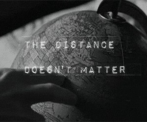 distance, love, and world image
