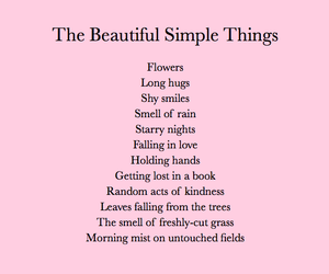 beautiful, simple, and words image
