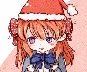 anime, christmas, and girl image