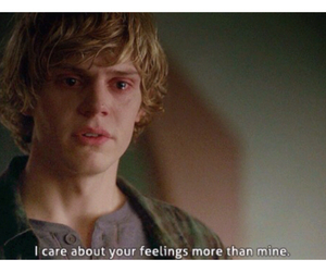 evan peters, quote, and ahs image