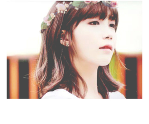 flower crown, apink, and a pink image