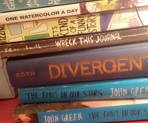 books, roth, and green image