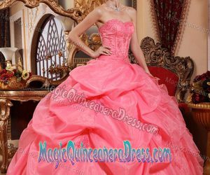 cute quinceanera dress, quince gowns, and quinceanera gown dress image