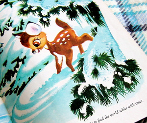 bambi, book, and disney image