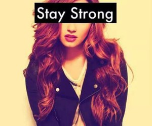 demi lovato, stay strong, and strong image