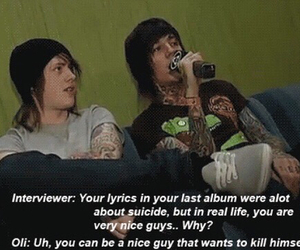 bmth, metalcore, and bring me the horizon image