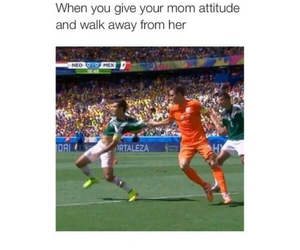 funny, mom, and attitude image