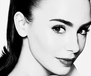 lily collins, city of bones, and the mortal instruments image