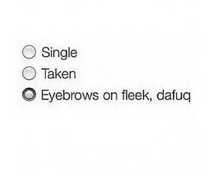 eyebrows, single, and taken image
