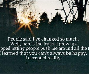 quotes, change, and reality image