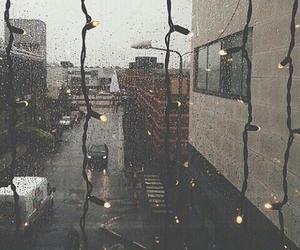 rain, light, and grunge image