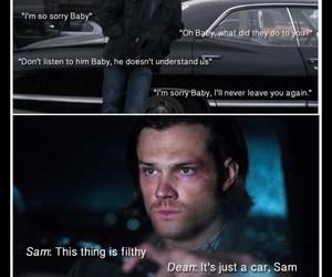 car, dean, and Sam image