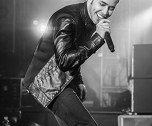 black and white, concert, and prince royce image