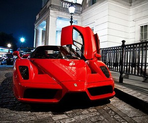 luxury, red, and car image
