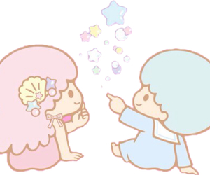 png, sanrio, and little twin stars image