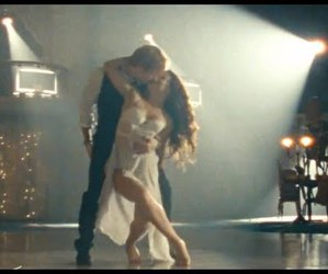couple, dance, and music image