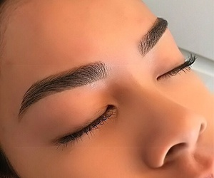 lashes, mymakeup, and flawless skin image