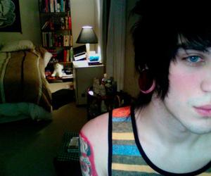 boy, cute, and tattoo image