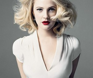 drew barrymore and blonde image