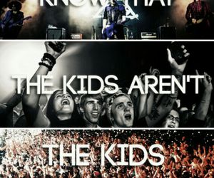 fall out boy, FOB, and the kids aren't alright image