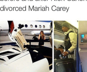 funny, Mariah Carey, and nick cannon image