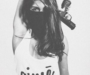 girl, gun, and sexy image