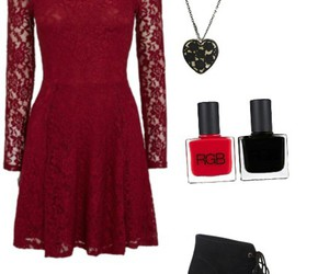 booties, dress, and outfit image