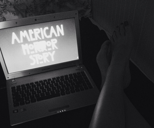 american horror story, grunge, and legs image