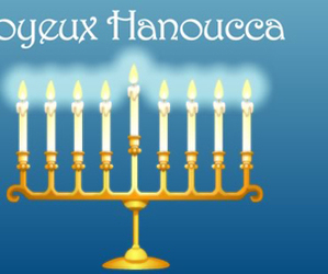 france, chanukah, and hanoucca image