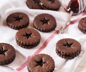 berries, chocolate, and christmas image