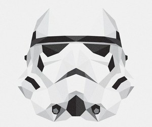 clone, star wars, and white and black image