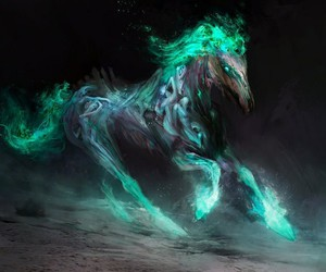 horse and magic image