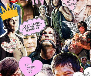 the walking dead, twd, and caryl image