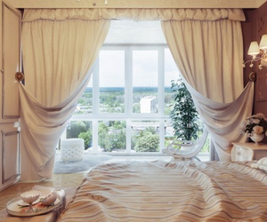 architecture, beautiful, and bedroom image