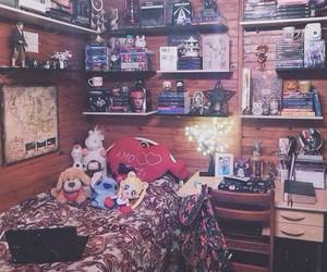 bedroom, retro, and christmas image