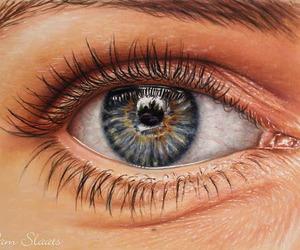 art, eye, and fine art image