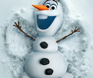 frozen, olaf, and happy image