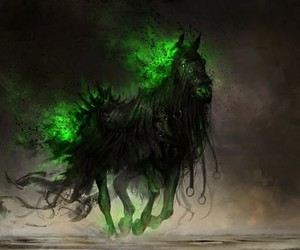 fear and horse image