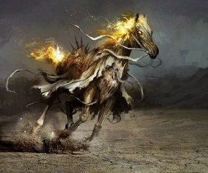 fantasy and horse image