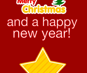 christmas, happy, and happy new year image