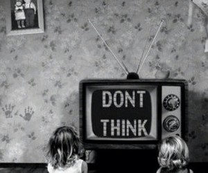 tv, television, and black and white image