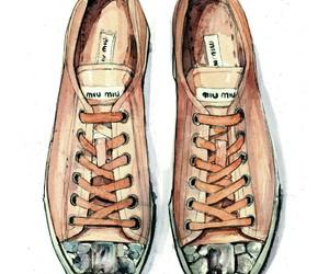 chic, patent, and fashion illustration image