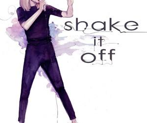 1989, blonde, and fashion illustration image