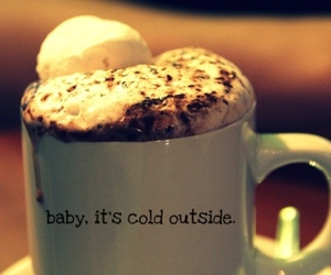 chocolate, hot chocolate, and cold image