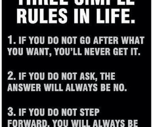 fitness, life, and rules image