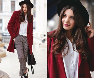 fashion blogger, winter look, and look of the day image