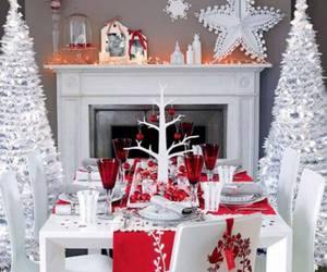 christmas, decoration, and christmas tree image