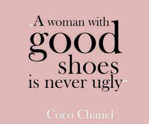 shoes, woman, and chanel image