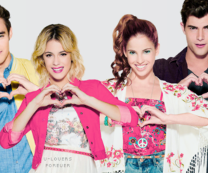violetta, martina stoessel, and jorge blanco image